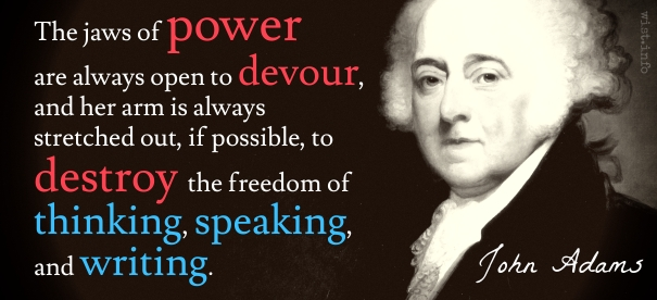 Adams - jaws of power - wist_info quote