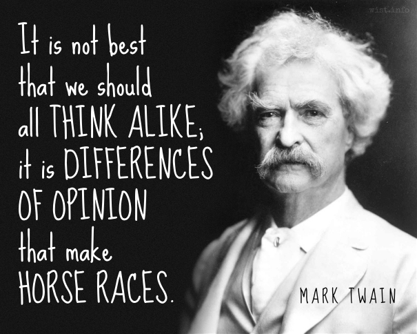 Twain - horse races - wist_info quote
