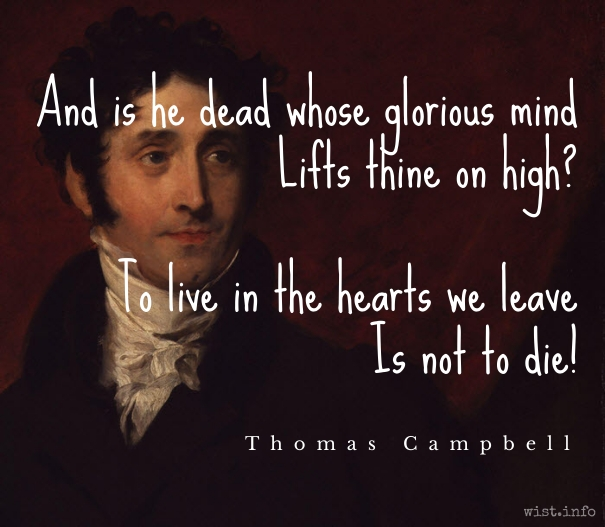 Campbell - not to die - wist_info