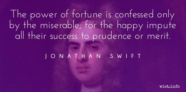 Jonathan Swift - fortune - wist_info