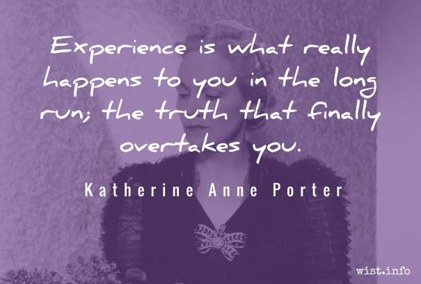 Porter - experience - wist_info