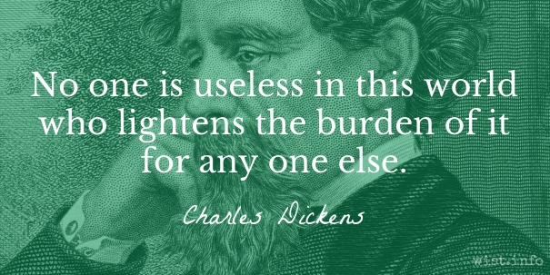 Dickens - lighten burden - wist_info