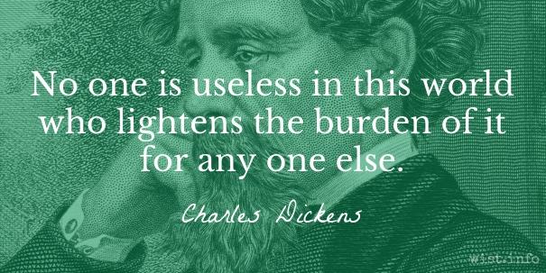 Dickens - lighten burden - wist_info