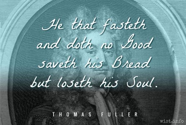 Fuller - fasting - wist_info