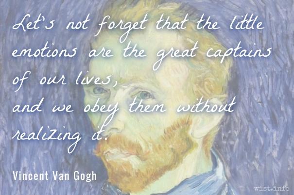 Van Gogh - emotions - wist_info