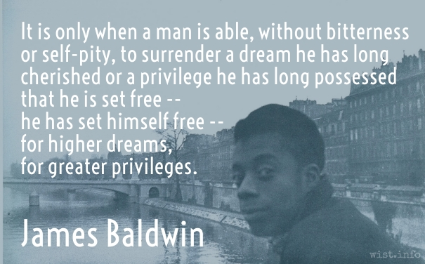 Baldwin - surrender a dream - wist_info quote