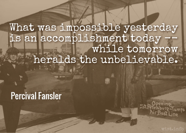 Fansler - tomorrow - wist_info quote