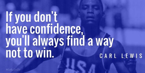 Lewis - confidence - wist_info quote