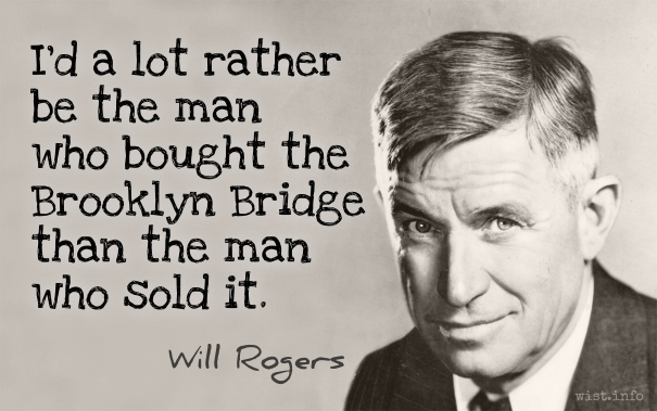 Rogers - Brooklyn Bridge - wist_info quote