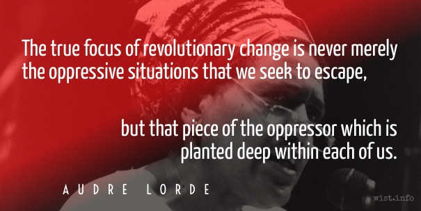 Lorde - piece of the oppressor - wist_info quote