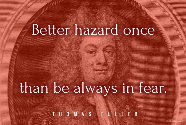 Fuller - hazard once - wist_info quote
