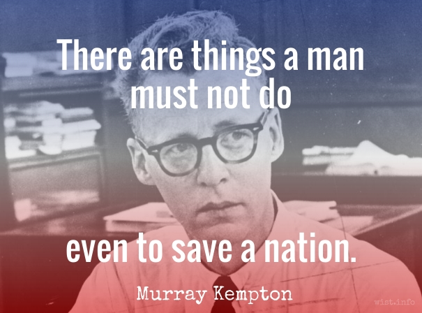 Kempton - even to save a nation - wist_info quote
