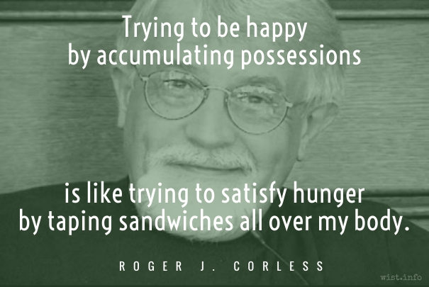 Corless - taping sandwiches - wist_info quote