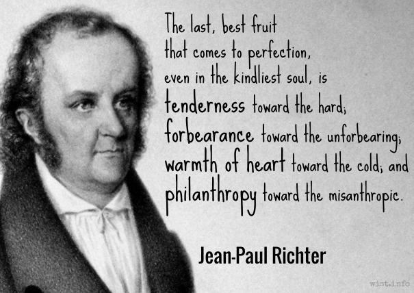 Jean-Paul - last best fruit - wist_info quote