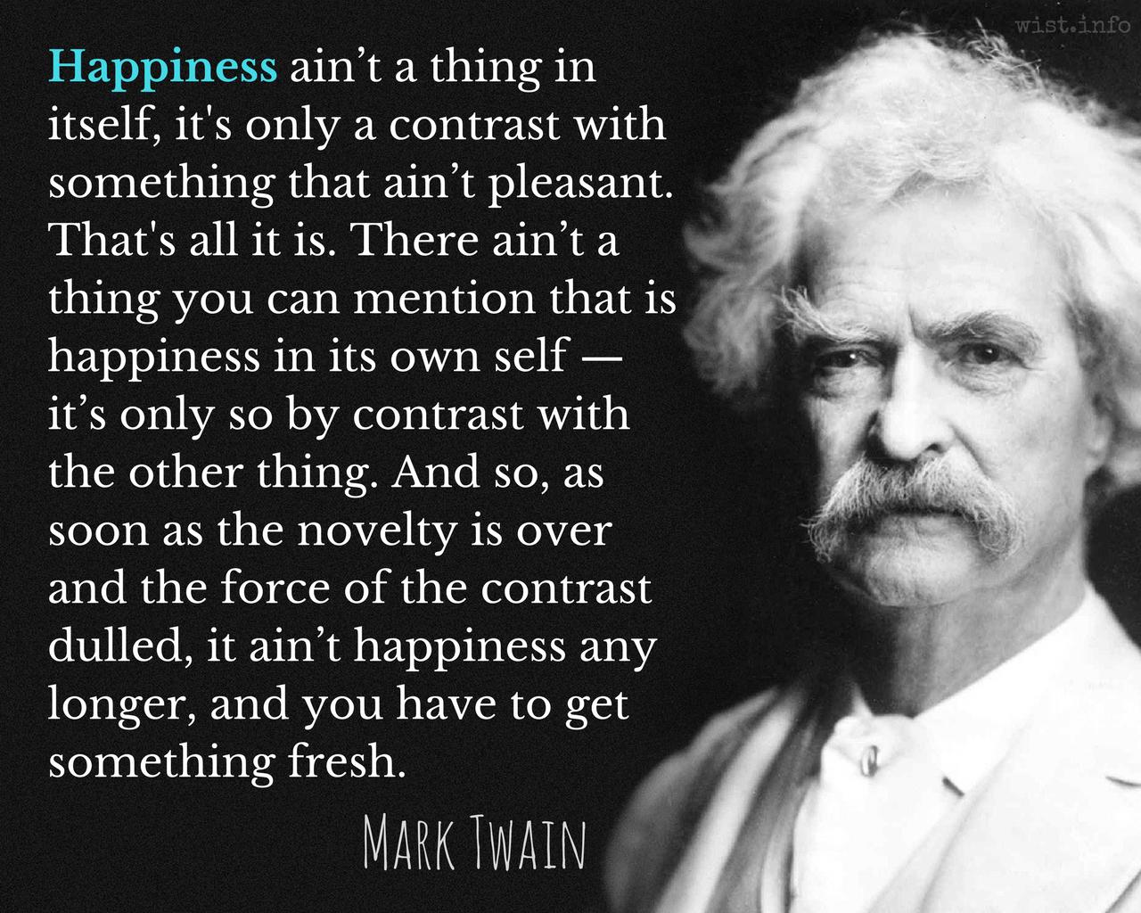 Twain Mark Quotations Wist