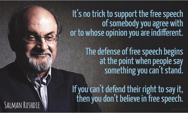 free speech - Quotations | WIST