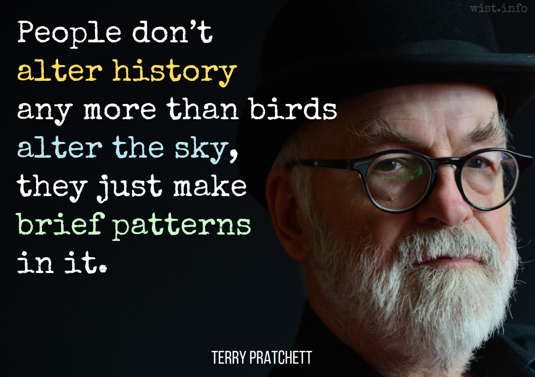 Pratchett Terry Quotations Wist