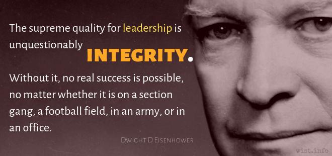 Eisenhower, Dwight David - Quotations | WIST